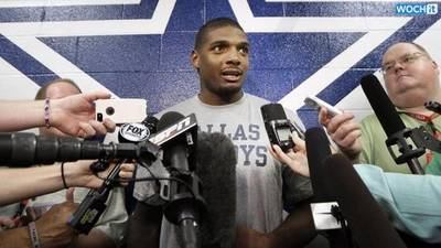 News video: Michael Sam Cut From Cowboys Practice Squad