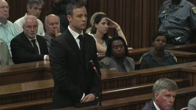 News video: Oscar Pistorius sentenced to 5 years in prison