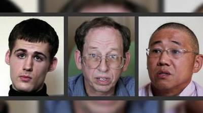 News video: US: 1 American Released From North Korea